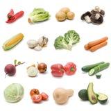 Ensemble de légumes frais images libres de droits