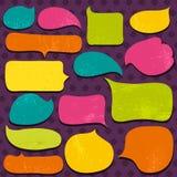 Ensemble de labels de special et de bulle, vecteur Image libre de droits