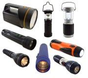 Ensemble de lampes-torches Image libre de droits