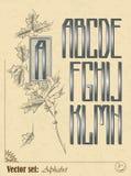 Alphabet anglais Photos libres de droits