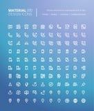 Ensemble de ligne matérielle icônes de conception illustration de vecteur