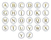 Ensemble de logo de lettre Images stock