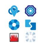 Ensemble de logo de vecteur Photo libre de droits