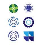 Ensemble de logo de vecteur Image stock