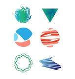 Ensemble de logo de vecteur Photographie stock libre de droits