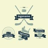Ensemble de logos Image stock