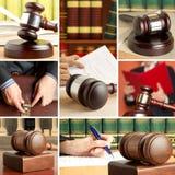 Ensemble de loi 5 Images stock
