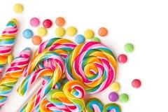 Ensemble de lucettes color?es images libres de droits