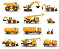 Ensemble de machines de construction