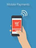 ensemble de mains tenant le comprimé numérique et le téléphone portable Image stock