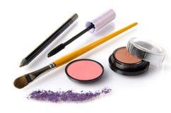 Ensemble de maquillage Photo libre de droits