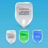 Ensemble de marqueurs colorés pour des concepts d'affaires Image stock