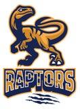 Ensemble de mascotte de Raptor