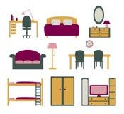 Ensemble de meubles Images libres de droits