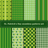Ensemble de milieux de jour de St Patricks Photo stock