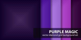 Ensemble de modèle de diamant Photo stock