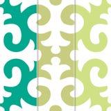 Modèle sans couture de Shyrdak Fleur de Lis Background Image libre de droits
