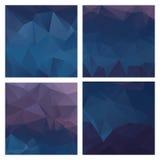 Ensemble de modèles colorés de vecteur dans le style géométrique illustration libre de droits