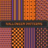 Ensemble de modèles de Halloween Photos stock