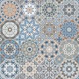 Ensemble de modèles octogonaux et carrés Photo libre de droits