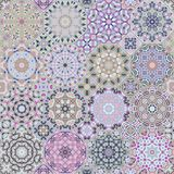 Ensemble de modèles octogonaux et carrés Images libres de droits