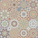Ensemble de modèles octogonaux et carrés Photographie stock