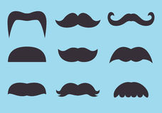 Moustache illustration stock