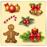 Ensemble de Noël Image libre de droits