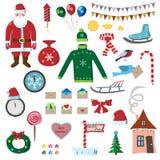 Ensemble de Noël, partie deux Photo stock