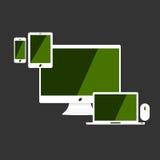 Ensemble de nouvel article de technologie de connexion Images libres de droits