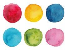 Ensemble de palettes colorées Photographie stock libre de droits