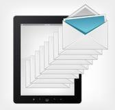 Ensemble de PC de tablette Images stock
