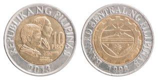 Ensemble de pièce de monnaie de penny Photographie stock libre de droits