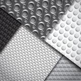 Ensemble de plusieurs modèles sans couture de fibre de carbone Images libres de droits