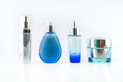 Ensemble de produits cosmétiques photos stock
