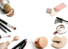 Ensemble de produits de beauté Photos libres de droits