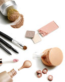 Ensemble de produits de beauté Photo stock