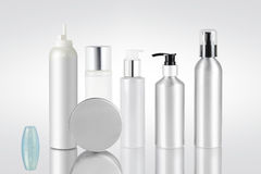 Ensemble de récipients cosmétiques Image libre de droits