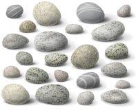 Ensemble de roche Photographie stock