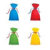 Ensemble de sacs à couleur Image libre de droits