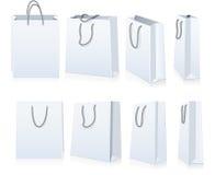 Ensemble de sacs à provisions illustration stock