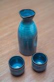 Ensemble de saké Photos stock