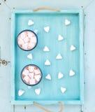 Ensemble de salutation de vacances de Seint Valentine chaud Photo libre de droits