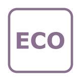 Ensemble de signe d'icône d'Eco Photos libres de droits