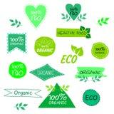 Ensemble de signes d'eco illustration libre de droits