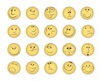 Ensemble de sourires illustration de vecteur