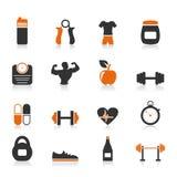 Forme physique une icône Image stock