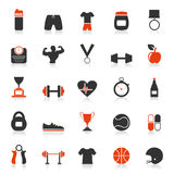 Forme physique un icon2 Image stock