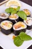 Ensemble de sushi images stock