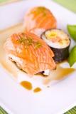 Ensemble de sushi photos libres de droits